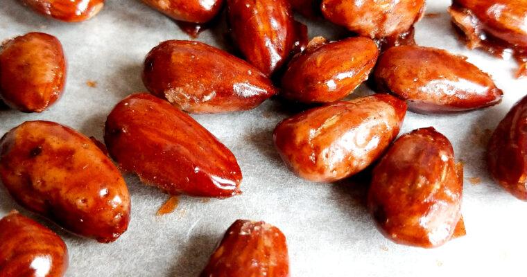Caramelized almonds recipe