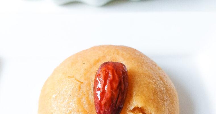 Semolina cookies in syrup (Turkish sekerpare)